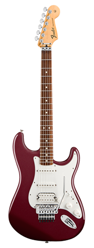 GUITARRA FENDER STANDARD STRAT HSS FLOYD ROSE - 114-4700-575 - MIDNIGHT WINE