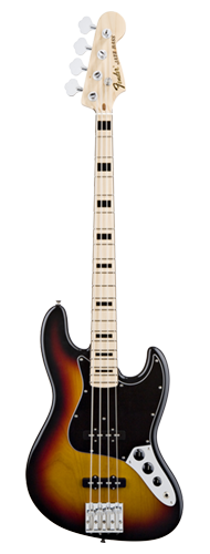 CONTRABAIXO FENDER SIG SERIES GEDDY LEE JAZZ BASS 014-7702-300 3-COLOR SUNBURST