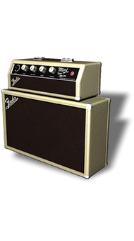 MINI AMPLIFICADOR FENDER MINI TONE MASTER - 023-4808-000