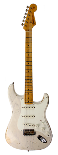 GUITARRA FENDER 56 STRATOCASTER HEAVY RELIC TIME MACHINE ASH 151-1602-801 WHITE BLONDE