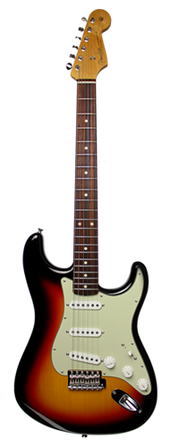 GUITARRA FENDER 60 STRATOCASTER NOS 923-0700-300 3-COLOR SUNBURST