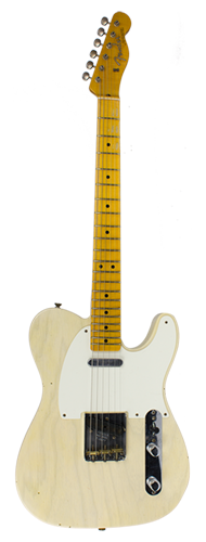 GUITARRA FENDER 50 TELECASTER JOURNEYMAN RELIC ASH 923-0070-801 FADED OLYMPIC WHITE