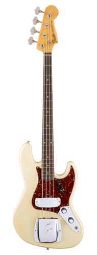 CONTRABAIXO FENDER LTD 60 JOURNEYMAN RELIC JAZZ BASS 155-2100-805 AGED OLYMPIC WHITE