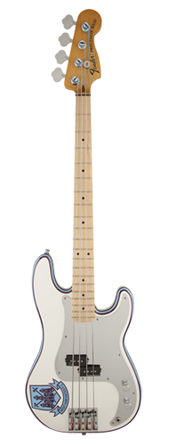 CONTRABAIXO FENDER SIG SERIES STEVE HARRIS P BASS 014-1032-305 OLYMPIC WHITE STRIPE