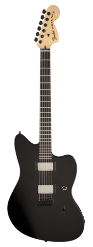 GUITARRA FENDER 011 5300 - SIG SERIES JIM ROOT JAZZMASTER - 706 - FLAT BLACK