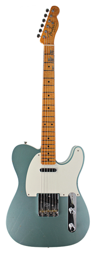 GUITARRA FENDER LTD 50 TELECASTER JOURNEYMAN RELIC CUSTOM BUILT 923-0902-815 F.SILVER METALLI