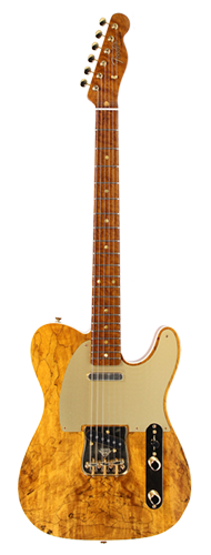 GUITARRA FENDER TELECASTER ARTISAN SPALTED MAPLE 152-1140-821 NATURAL