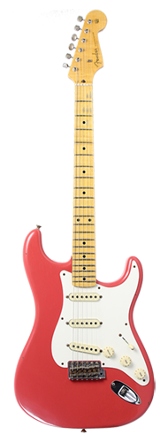 GUITARRA FENDER 57 STRATOCASTER JOURNEYMAN RELIC 923-0010-840 FADED FIESTA RED