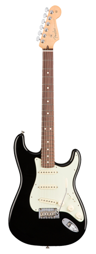 GUITARRA FENDER 011 3010 - AM PROFESSIONAL STRATOCASTER RW - 706 - BLACK