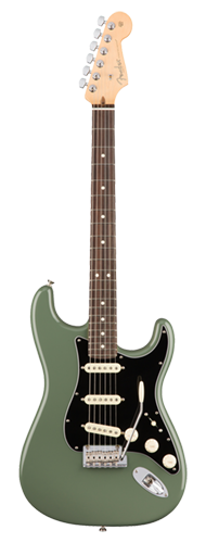 GUITARRA FENDER 011 3010 - AM PROFESSIONAL STRATOCASTER RW - 776 - ANTIQUE OLIVE