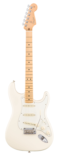 GUITARRA FENDER 011 3012 - AM PROFESSIONAL STRATOCASTER MN - 705 - OLYMPIC WHITE