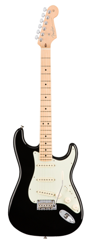 GUITARRA FENDER 011 3012 - AM PROFESSIONAL STRATOCASTER MN - 706 - BLACK