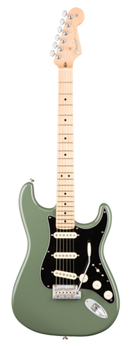GUITARRA FENDER 011 3012 - AM PROFESSIONAL STRATOCASTER MN - 776 - ANTIQUE OLIVE