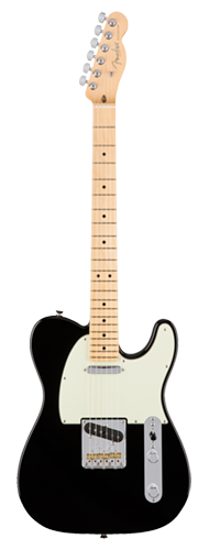 GUITARRA FENDER 011 3062 - AM PROFESSIONAL TELECASTER MN - 706 - BLACK