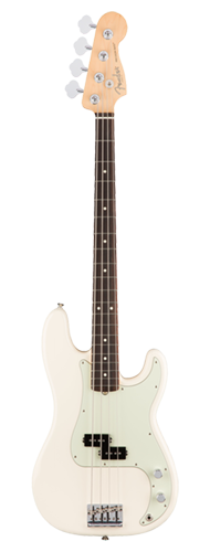 CONTRABAIXO FENDER AM PROFESSIONAL PRECISION BASS ROSEWOOD 019-3610-705 OLYMPIC WHITE