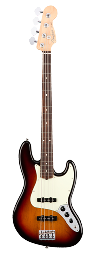 CONTRABAIXO FENDER AM PROFESSIONAL JAZZ BASS ROSEWOOD 019-3900-700 3-COLOR SUNBURST