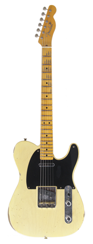 GUITARRA FENDER 51 NOCASTER RELIC LTD 2017 923-9990-832 FADED NOCASTER BLONDE