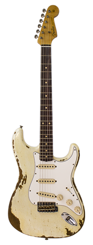 GUITARRA FENDER 60S STRATOCASTER HEAVY RELIC CUSTOM BUILT 923-1008-523 WHITE SPARKLE