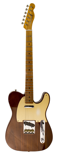 GUITARRA FENDER LTD TELECASTER JOURNEY RED HOT ROASTED CUSTOM BUILT 923-9820-833 VIOLIN BURST