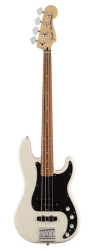 CONTRABAIXO FENDER DELUXE ACTIVE PJ BASS SPECIAL PAU FERRO 014-3413-305 OLYMPIC WHITE