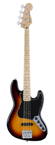 CONTRABAIXO FENDER DELUXE ACTIVE JAZZ BASS MN 014-3512-300 3-COLOR SUNBURST