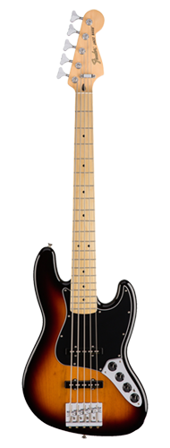CONTRABAIXO FENDER DELUXE ACTIVE JAZZ BASS V MN 014-3612-300 3-COLOR SUNBURST