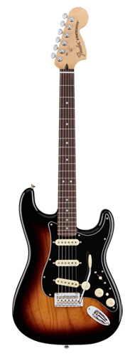 GUITARRA FENDER DELUXE STRAT PAU FERRO 014-7103-303 2-COLOR SUNBURST