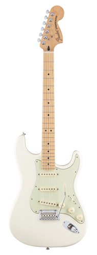GUITARRA FENDER DELUXE ROADHOUSE STRAT MN 014-7302-305 OLYMPIC WHITE