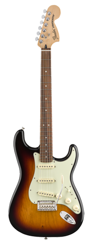 GUITARRA FENDER DELUXE ROADHOUSE STRAT PAU FERRO 014-7303-300 3-COLOR SUNBURST