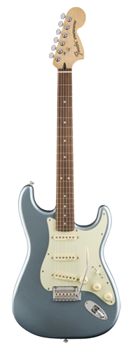 GUITARRA FENDER DELUXE ROADHOUSE STRAT PAU FERRO 014-7303-362 MYSTIC ICE BLUE