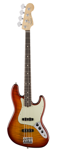 CONTRABAIXO FENDER AM PROFESSIONAL JAZZ BASS FMT LTD EDITION 017-5108-731 AGED CHERRY SB