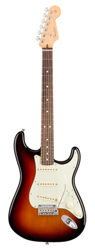 GUITARRA FENDER 011 3010 - AM PROFESSIONAL STRATOCASTER RW - 700 - 3-COLOR SUNBURST