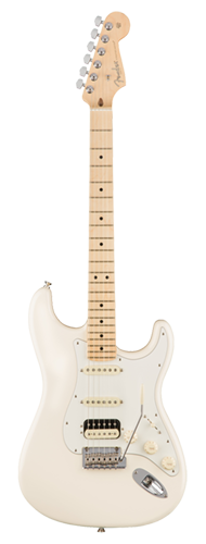 GUITARRA FENDER 011 3042 - AM PROFESSIONAL STRATOCASTER SHAWBUCKER HSS MN - 705 - OLYMPIC WHITE