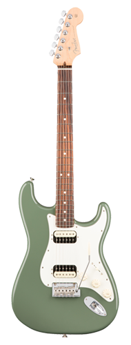 GUITARRA FENDER 011 3050 - AM PROFESSIONAL STRATOCASTER SHAWBUCKER HH RW - 776 - ANTIQUE OLIVE
