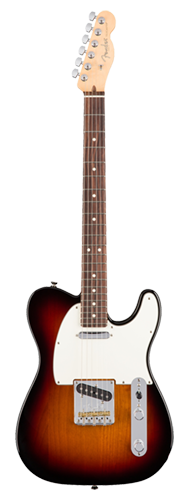 GUITARRA FENDER 011 3060 - AM PROFESSIONAL TELECASTER RW - 700 - 3-COLOR SUNBURST