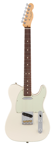 GUITARRA FENDER 011 3060 - AM PROFESSIONAL TELECASTER RW - 705 - OLYMPIC WHITE