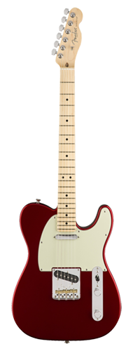 GUITARRA FENDER 011 3062 - AM PROFESSIONAL TELECASTER MN - 709 - CANDY APPLE RED