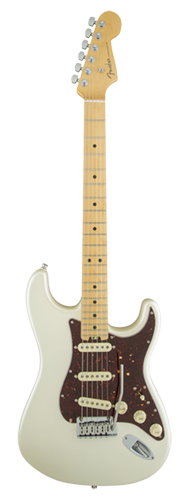 GUITARRA FENDER AM ELITE STRATOCASTER MAPLE - 011-4002-723 - OLYMPIC PEARL