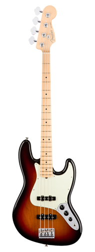 CONTRABAIXO FENDER AM PROFESSIONAL JAZZ BASS MAPLE 019-3902-700 3-COLOR SUNBURST