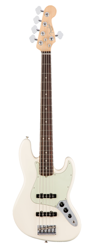 CONTRABAIXO FENDER AM PROFESSIONAL JAZZ BASS V ROSEWOOD 019-3950-705 OLYMPIC WHITE