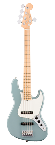 CONTRABAIXO FENDER AM PROFESSIONAL JAZZ BASS V MAPLE 019-3952-748 SONIC GRAY
