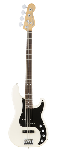 CONTRABAIXO FENDER AM ELITE PRECISION BASS ROSEWOOD 019-6900-705 OLYMPIC WHITE