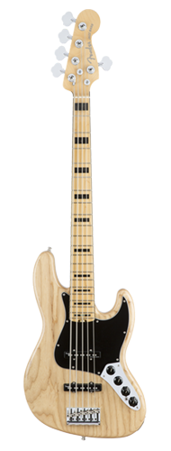 CONTRABAIXO FENDER AM ELITE JAZZ BASS V ASH MAPLE 019-7102-721 NATURAL
