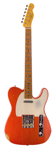 GUITARRA FENDER TELECASTER ROASTED FRETBOARD RELIC C. BUILT 923-9822-809 FADED C. APPLE RED
