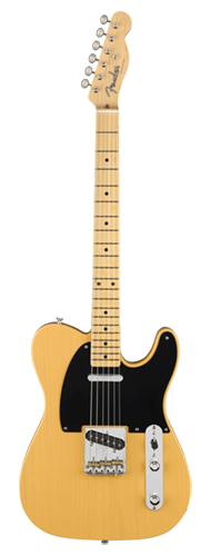 GUITARRA FENDER 50S AM ORIGINAL TELECASTER MN 011-0132-850 BUTTERSCOTCH BLONDE