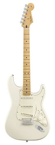 GUITARRA FENDER PLAYER STRATOCASTER MN 014-4502-515 POLAR WHITE