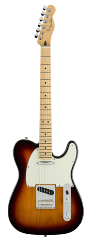 GUITARRA FENDER PLAYER TELECASTER MN 014-5212-500 3-COLOR SUNBURST