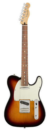 GUITARRA FENDER PLAYER TELECASTER PF 014-5213-500 3-COLOR SUNBURST