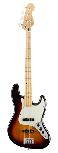 CONTRABAIXO FENDER PLAYER JAZZ BASS MN 014-9902-500 3-COLOR SUNBURST