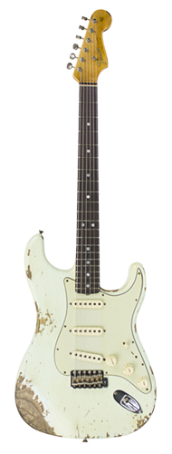 GUITARRA FENDER 65 STRATOCASTER HEAVY RELIC LTD EDITION 923-1009-514 S. FADED AGED SURF GREEN
